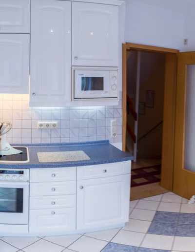 Untere Küche – Panoramaansicht.